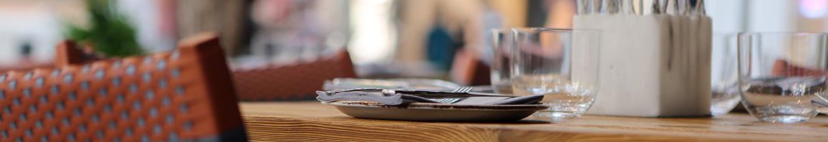 Eating Deli at Shamas Deli restaurant in New York, NY.